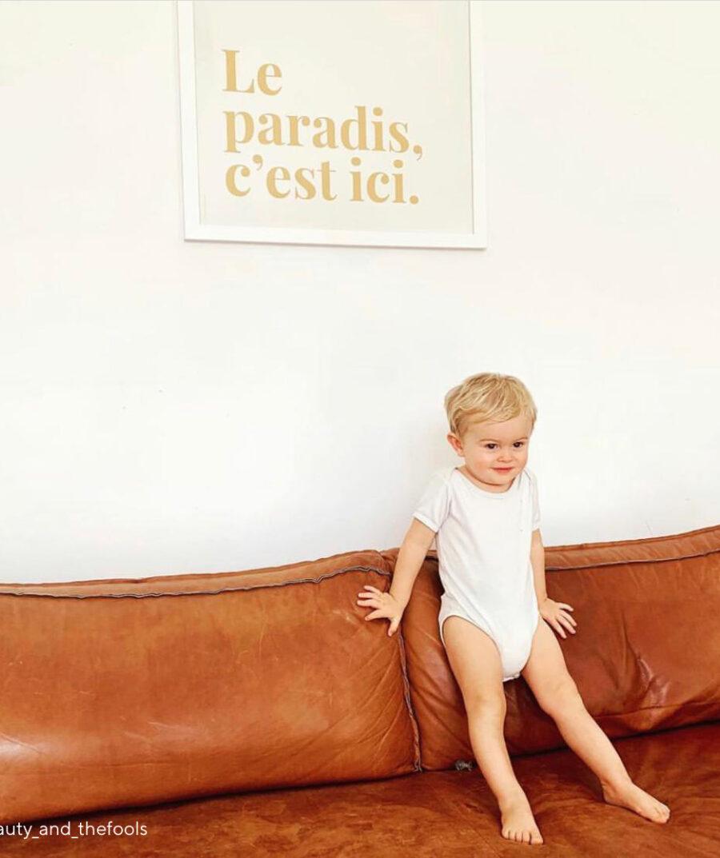 Le paradis c'est ici poster by Mangos on Monday