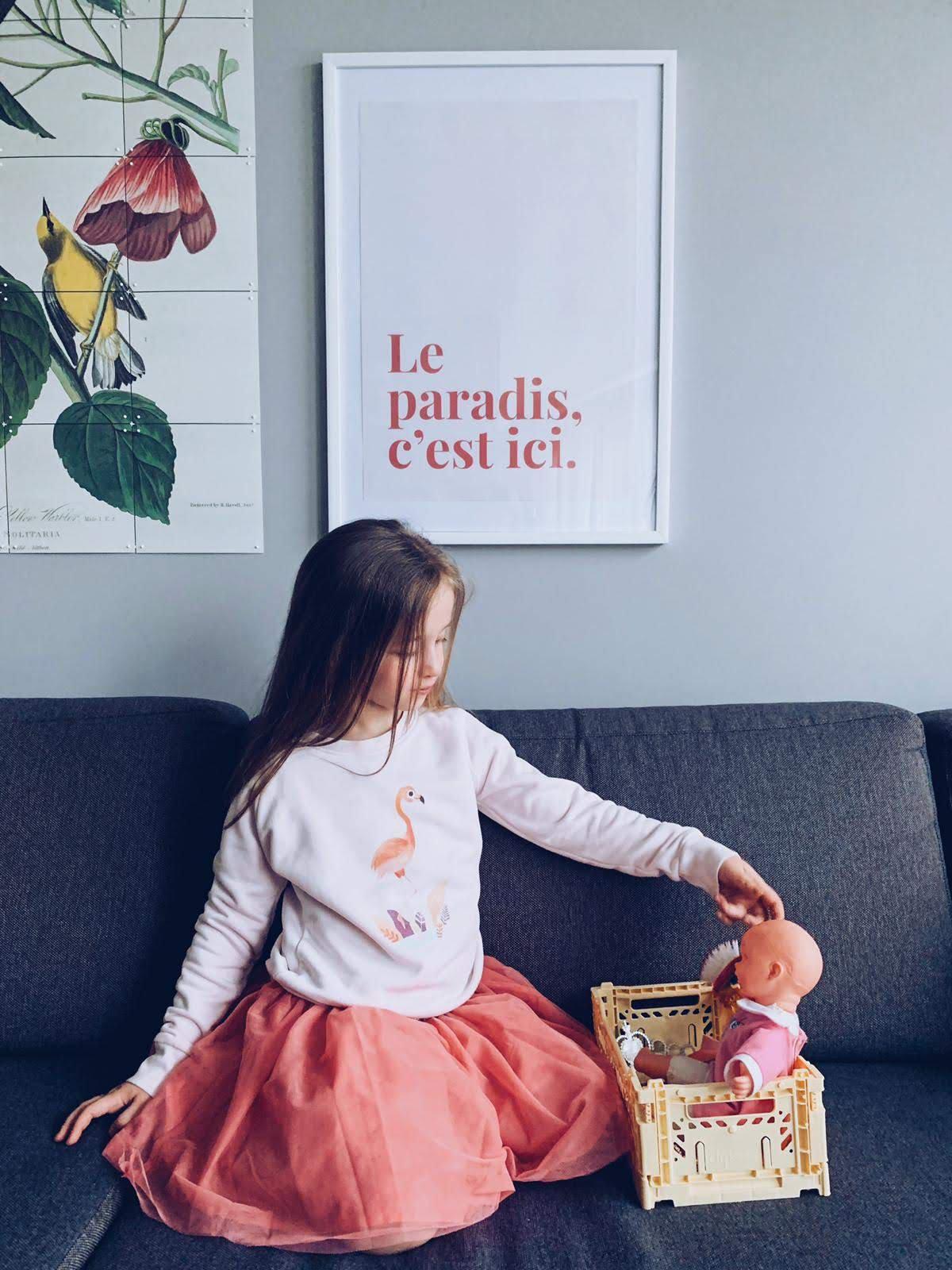 A2 poster Le paradis, c'est ici - poster by mangos on monday