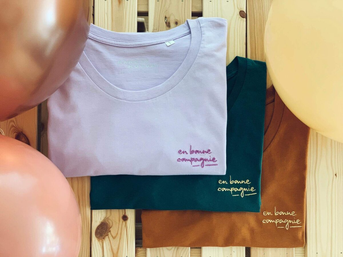 En bonne compagnie t-shirt voor dames - Mangos on Monday