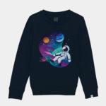Astronaut sweater by Mangos on Monday