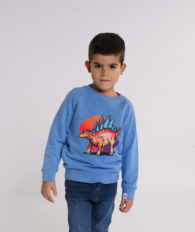 Stegosaurus sweater - Mangos on Monday