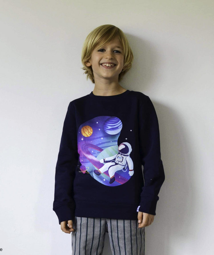Astronaut sweater by Mangos on Monday