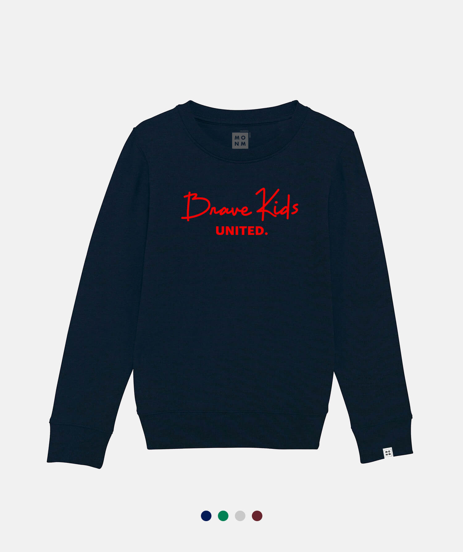 Brave Kids united sweater voor kinderen van Mangos on Monday