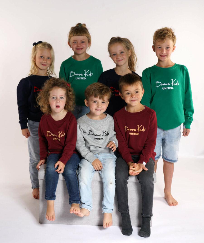 Brave kids united sweater - Mangos on Monday