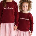 Tout est Magique twinning sweater - Mangos on Monday
