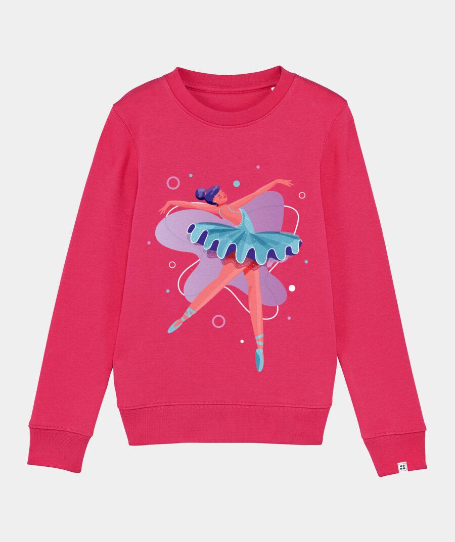 Ballerina sweater - Mangos on Monday - Raspberry