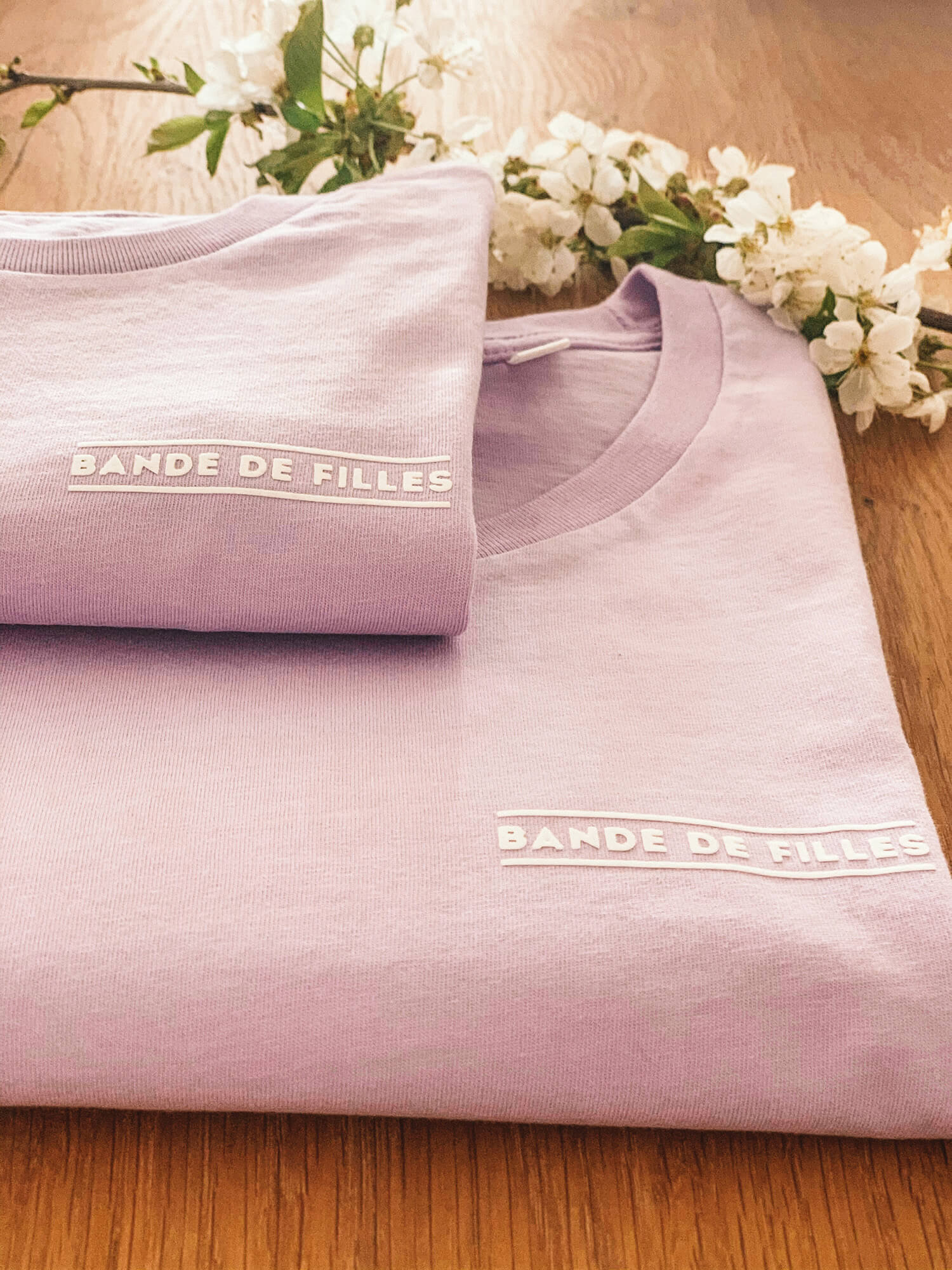 Bande de filles - twinning t-shirt by Mangos on Monday
