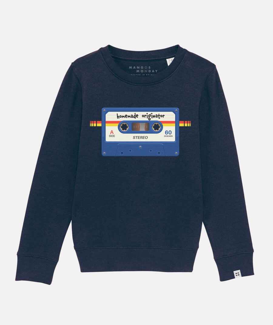 Homemade Originator - (cassette) - sweater by Mangos on Monday