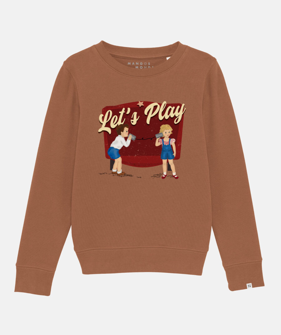 Let's Play vintage sweater by Mangos on Monday