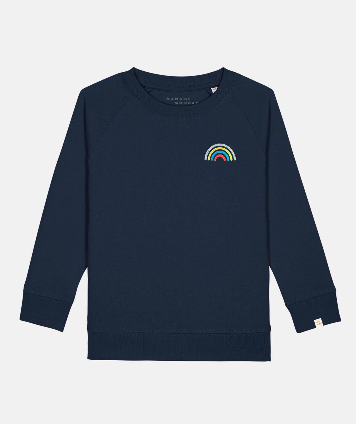 Rainbow kids twinning sweater by Mangos on Monday