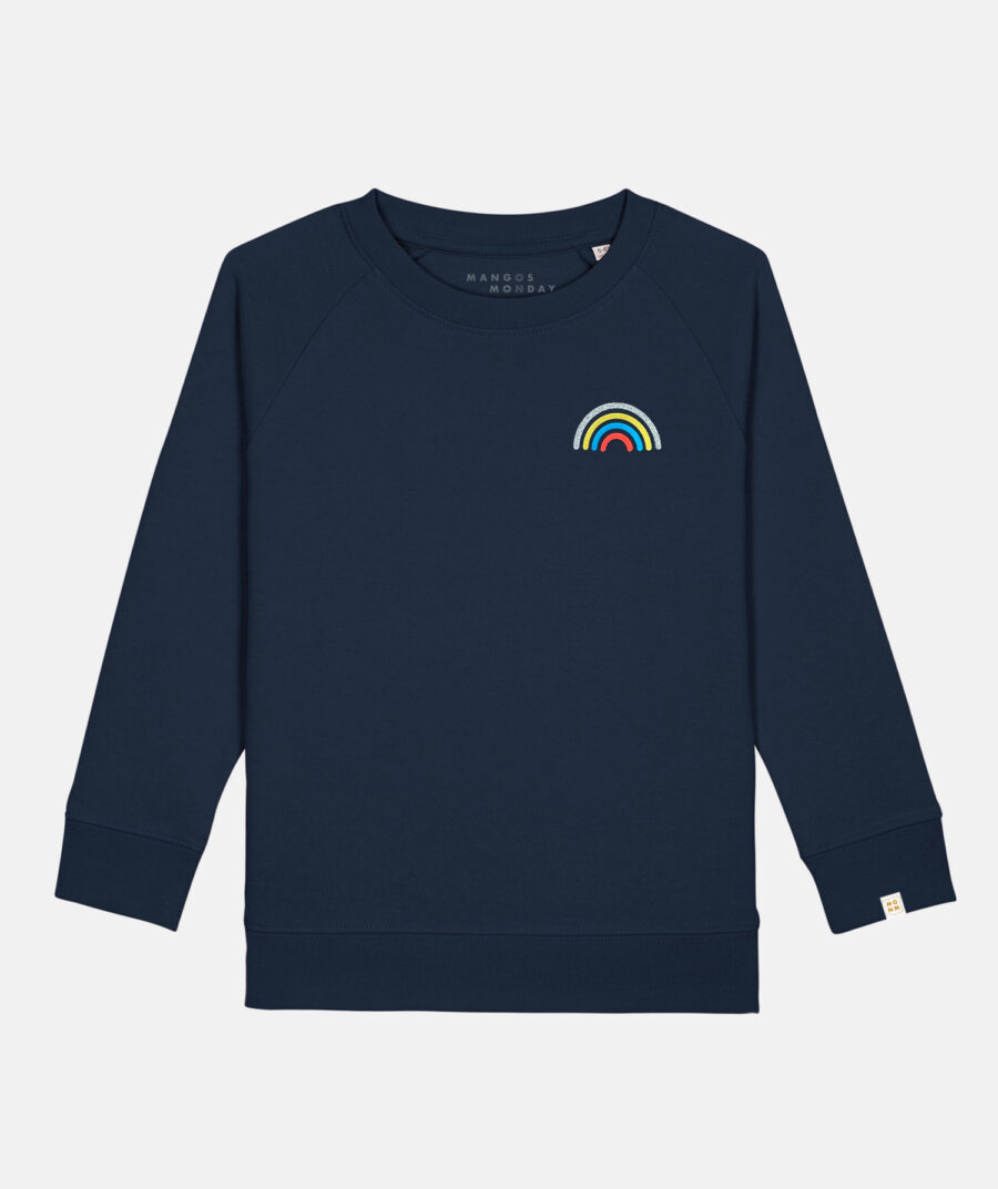 Rainbow kids twinning sweater by Mangos on Monday