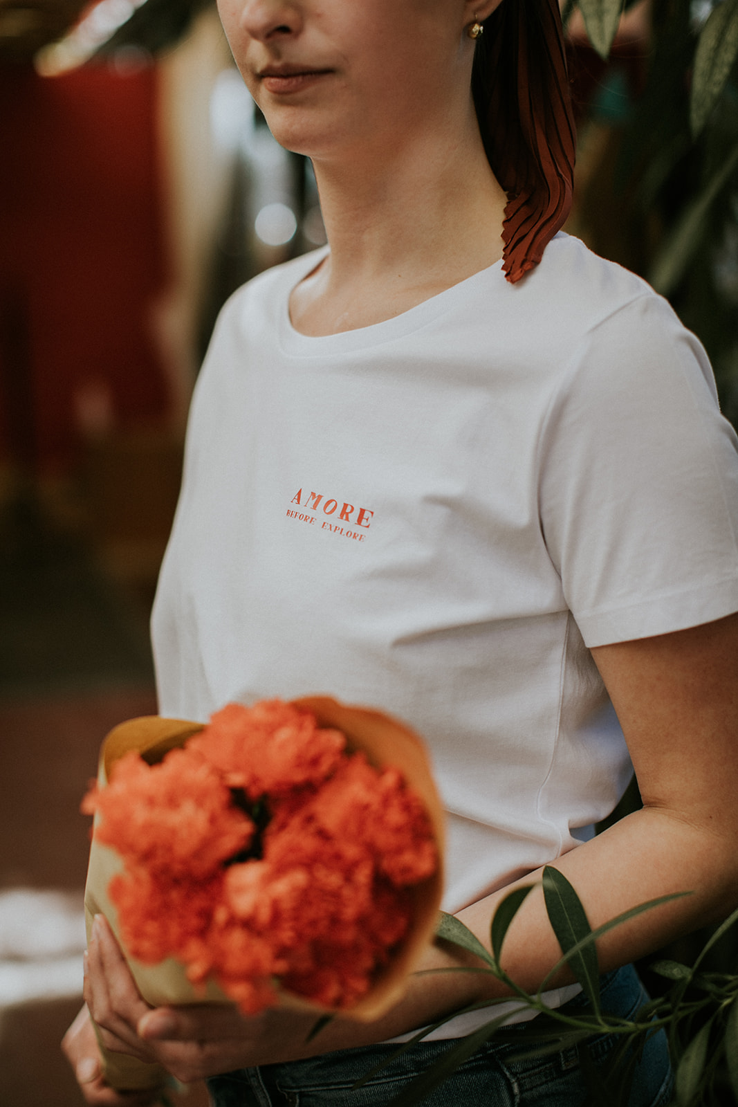 Amore before explore t-shirt