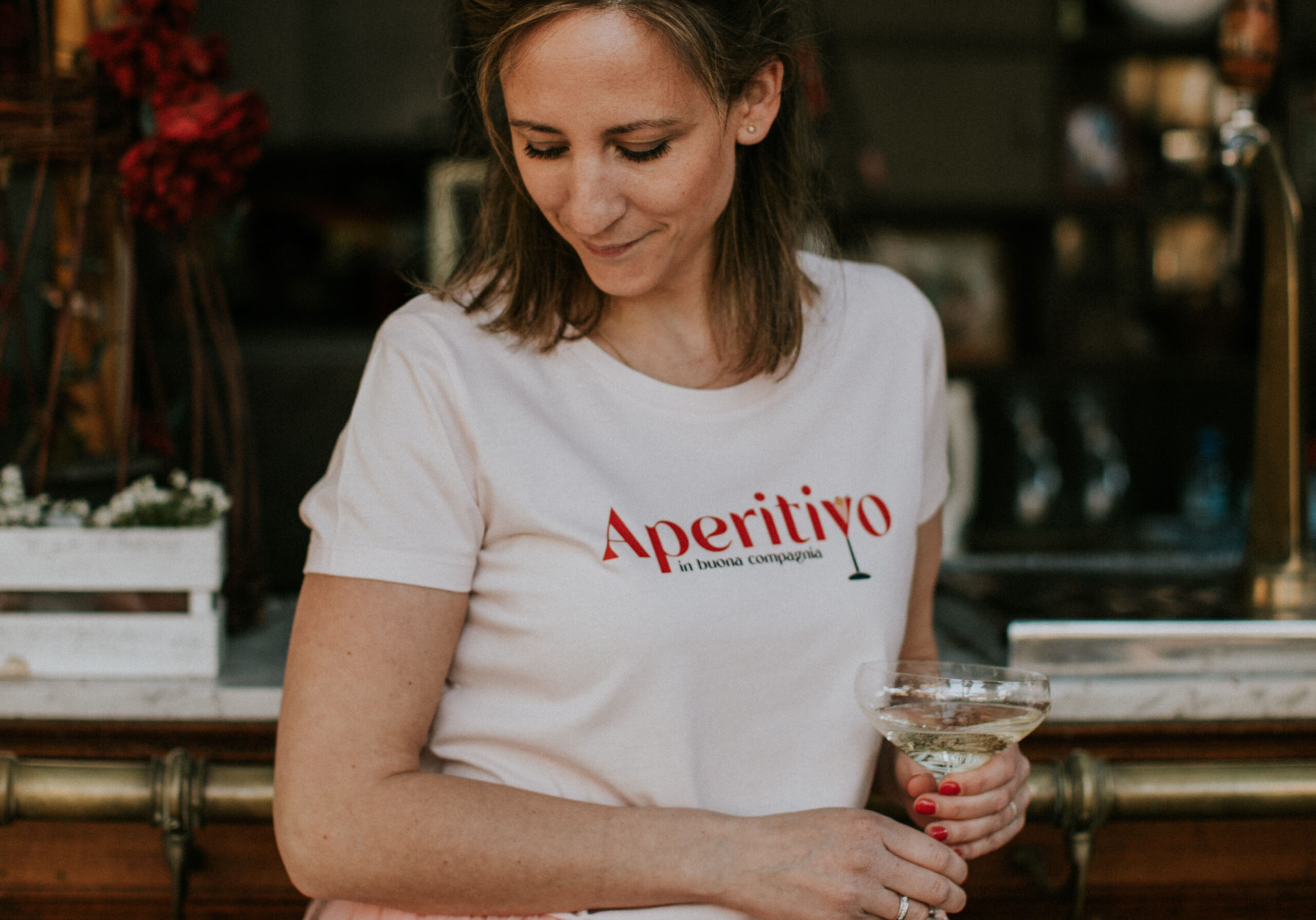 Aperitivo t-shirt by Mangos on Monday