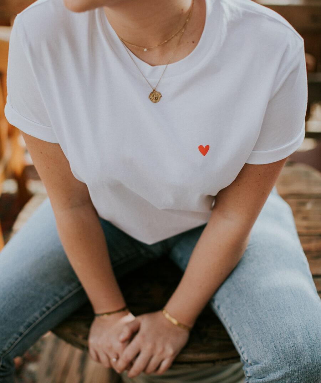 Love (Loose fit) t-shirt - Mangos on Monday