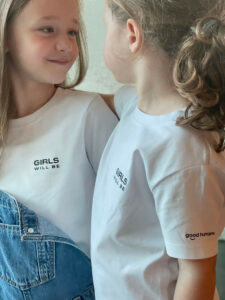 Boys / Girls will be.. good humans t-shirt - Mangos on Monday